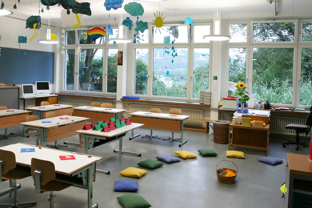 Twenty-first century classroom space