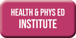 NCTCA Health and phys ed institute button