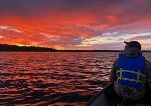 Sunset-Canoe